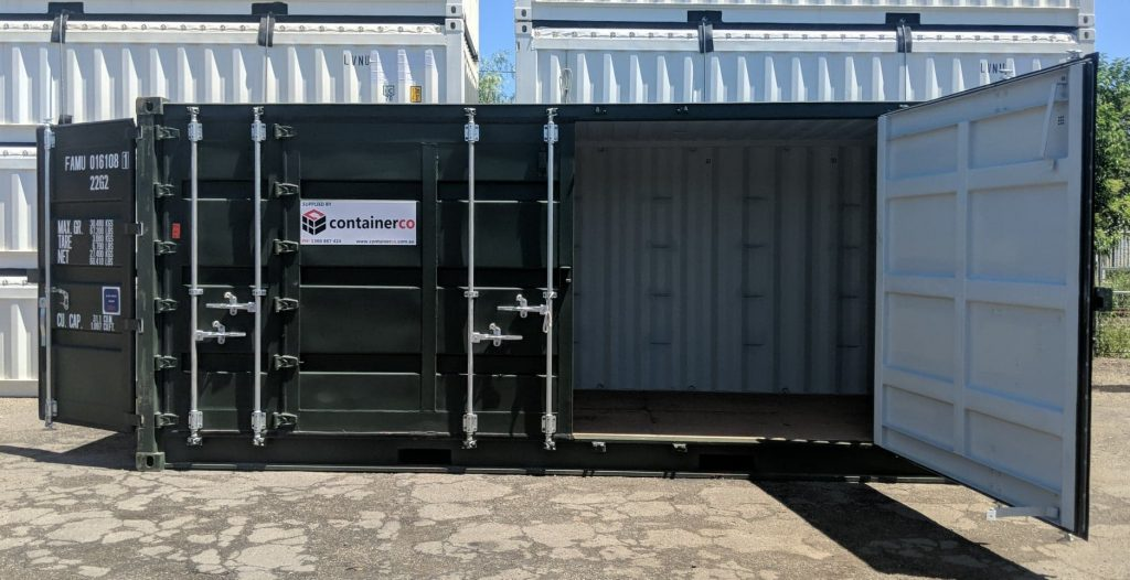 side opening container image