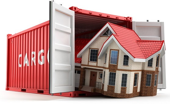 self pack shipping container image